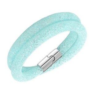Swarovski Stardust turquoise bracelet